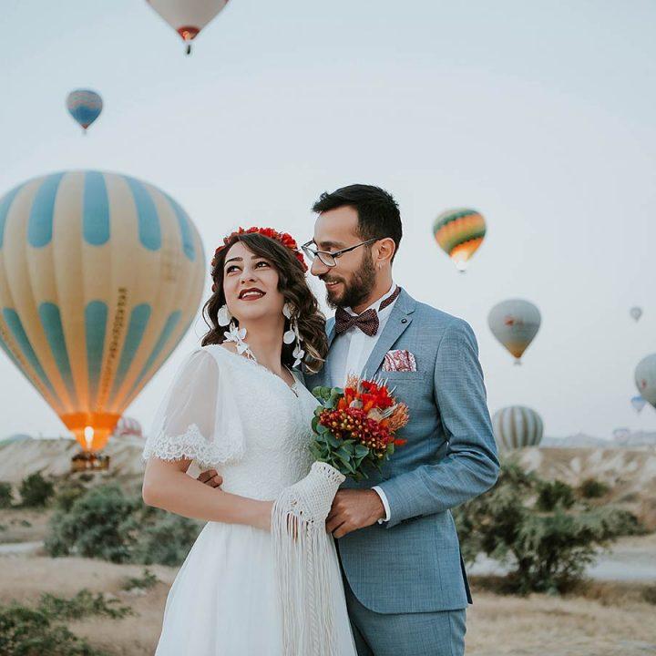Sinem & Ali Kapadokya Balon Dış Çekim